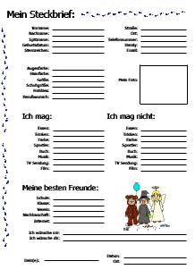 Vorlagen für Freundebücher zum Ausdrucken   Freundschaftsbuch
