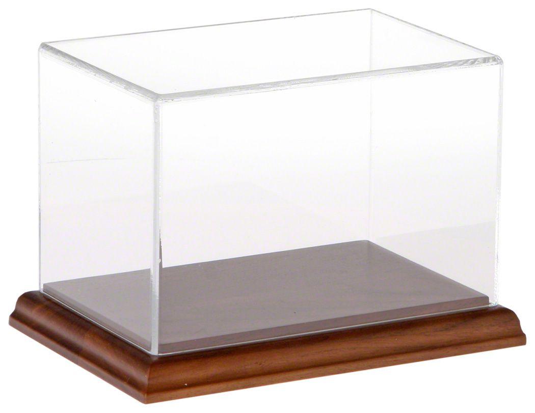 Acrylic Display Case with Hardwood Base 6\