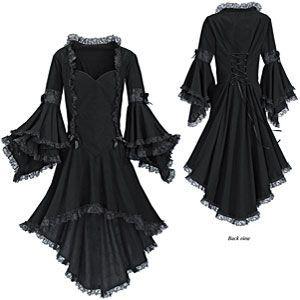 hinkenhook: 31 Days of Hallowedding Inspiration #9: Dress/Attire