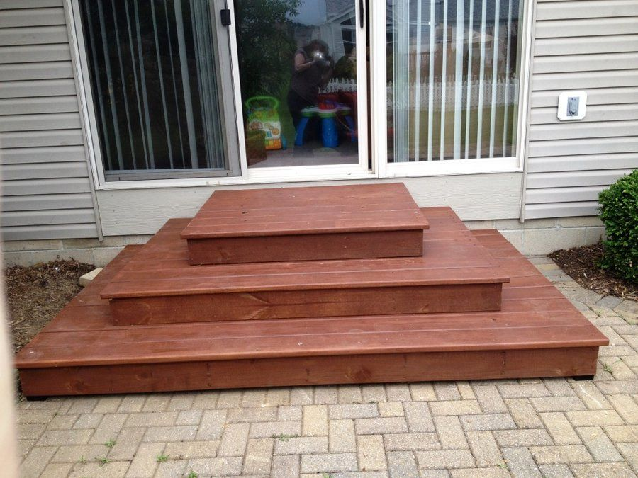 Wood Patio Steps   Google Search