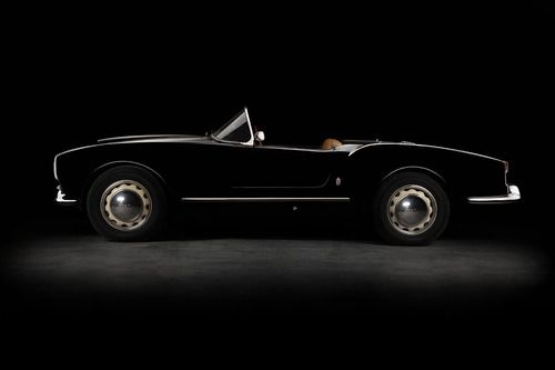 1955 Lancia Aurelia B24 Spider by Ashley Border