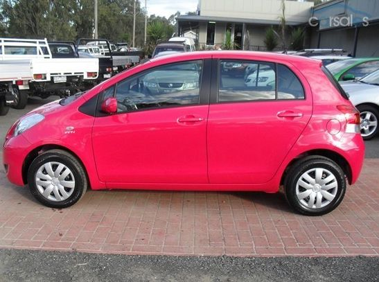 The Hot Pink Toyota Yaris You May See This Zooming Around Our