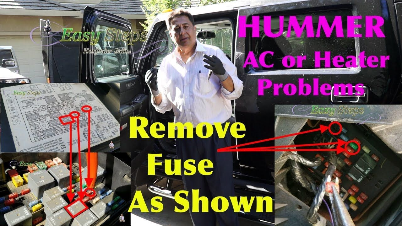 How to Fix AC Blowing Hot and Cold Air HUMMER AC or