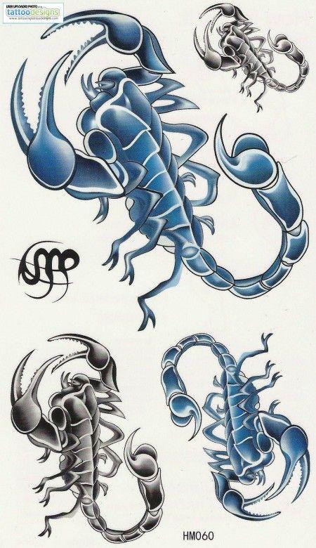 Tatuajes De Escorpiones Significados Diseños De Tatuajes