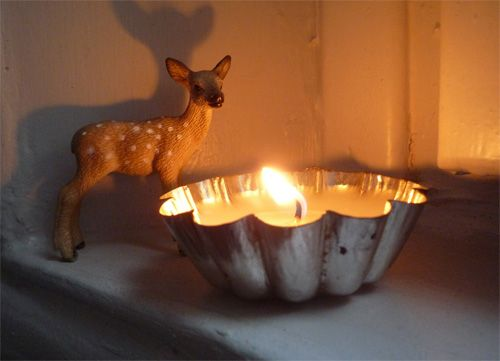 Tuto Noël : fabriquer des bougies parfumées avec le reste des bougies chauffe-plat