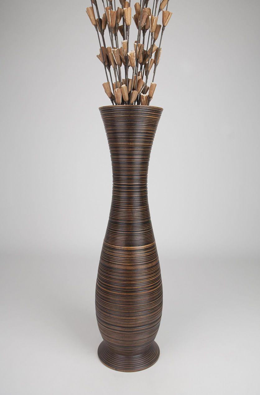 Leewadee Tall Floor Standing Vase