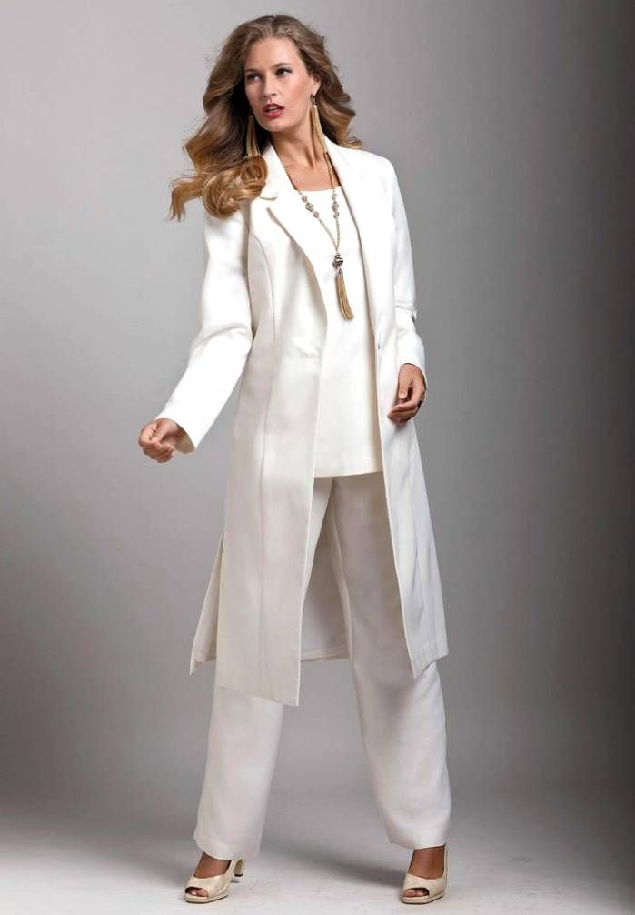 ea1ba82dc67 99+ Mother Of The Bride Pant Suits Outfits Formal Womens Evening ...
