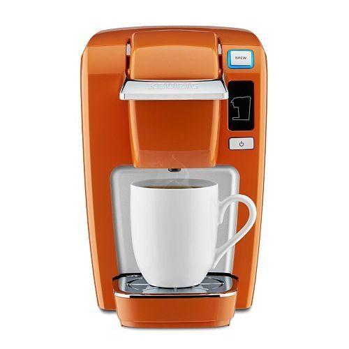 Keurig K15 Single Serve Coffee Maker Burnt Orange Newest Rarest