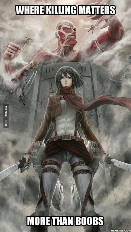 Gaming World has Chinese Assasin's Creed. Anime has AOT.