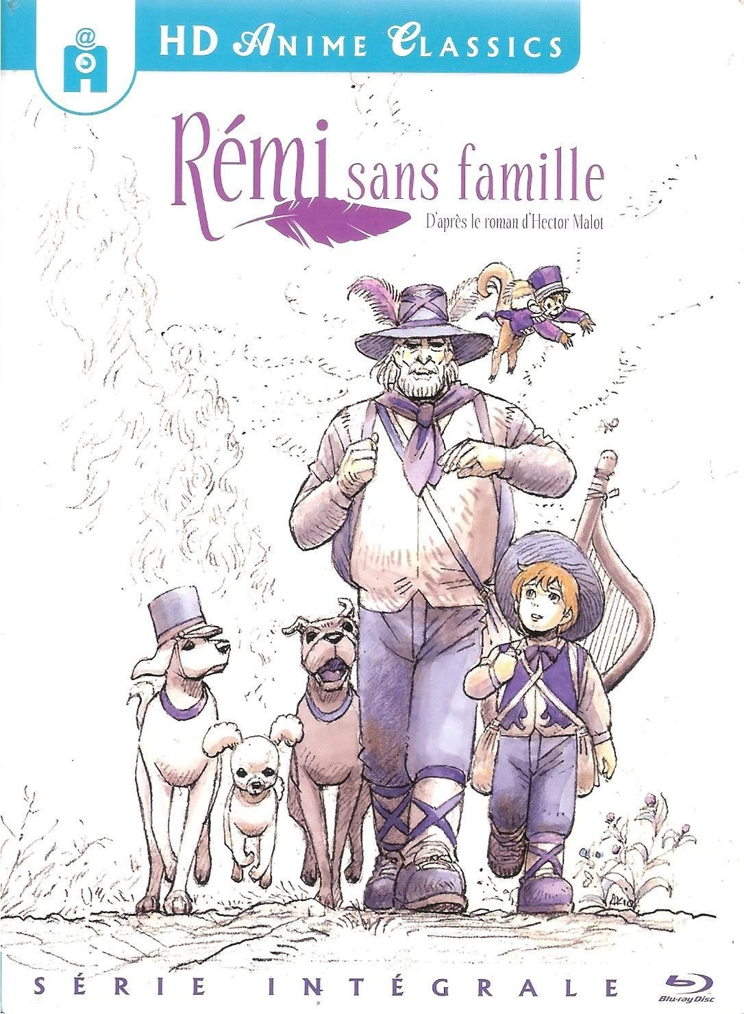 Remi Sans Famille Blu Ray France Famille Android Wallpaper Anime Remi