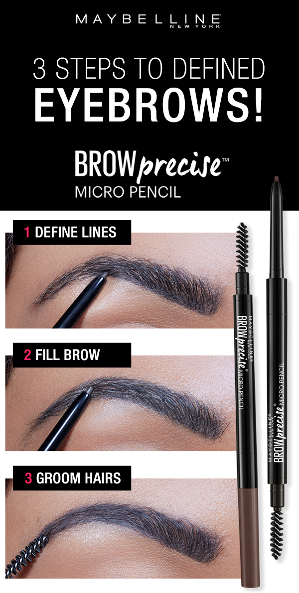 Get Natural Looking Defined Eyebrows With The Maybelline Brow