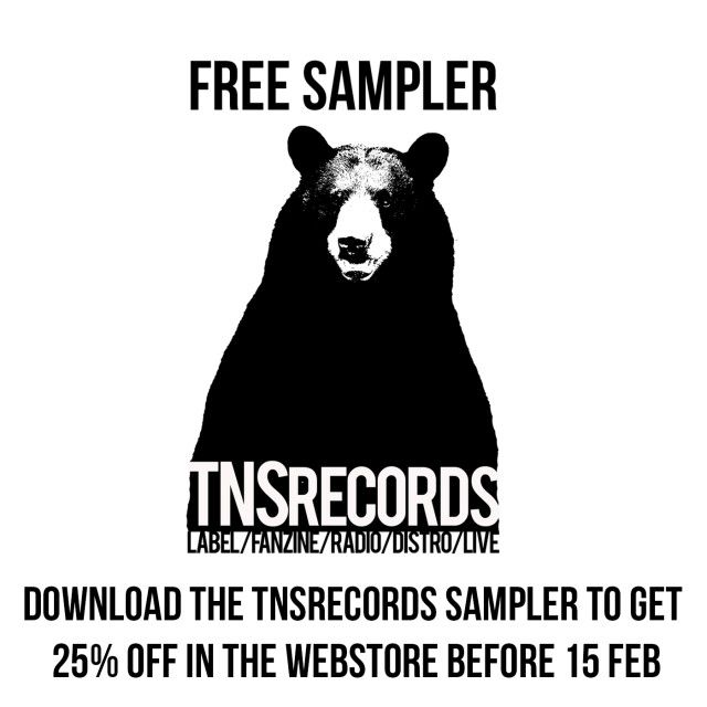 TNS Records offers free sampler download and Winter SALE