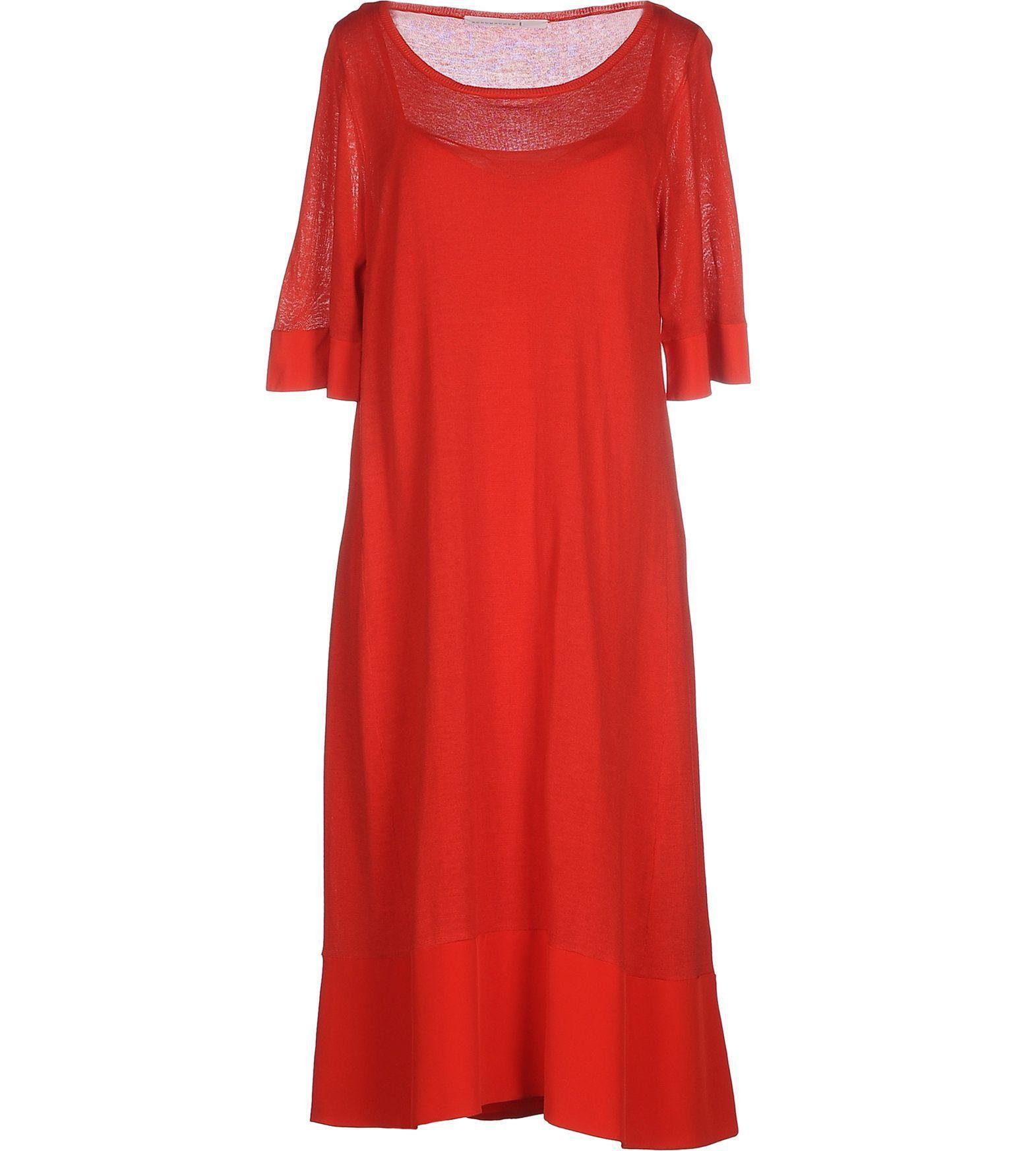 Αυτή την ευκαιρία δεν πρέπει να την χάσεις:SCHUMACHER ΦΟΡΕΜΑΤΑ Φόρεμα μέχρι το γόνατο στην μοναδική τιμή των...