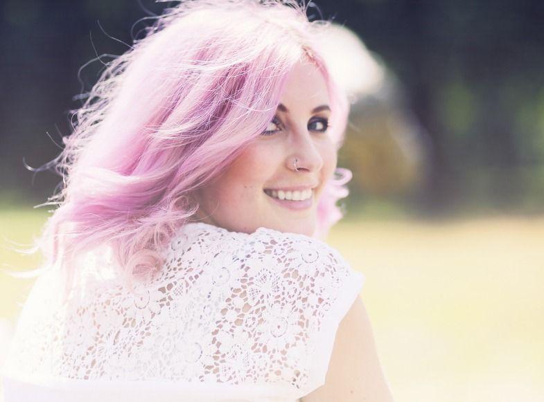 Haare rosa directions