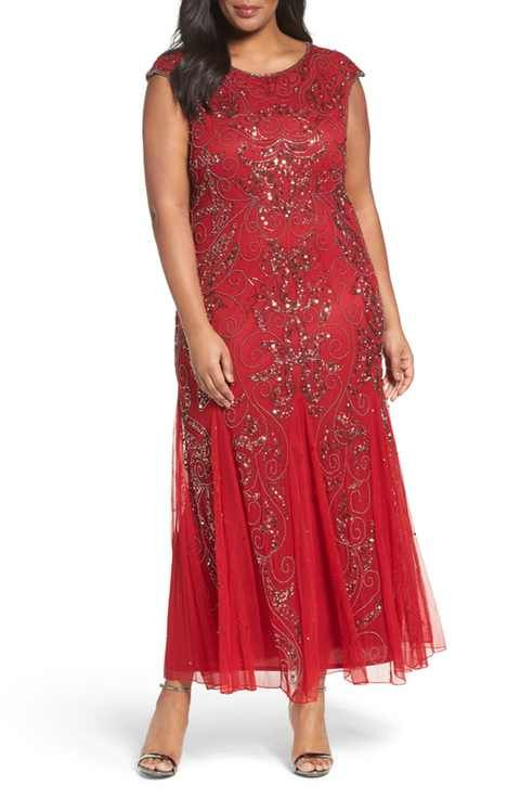Pisarro Nights Beaded Gown | FASHION / PLUS SIZE | Pinterest | Gowns ...