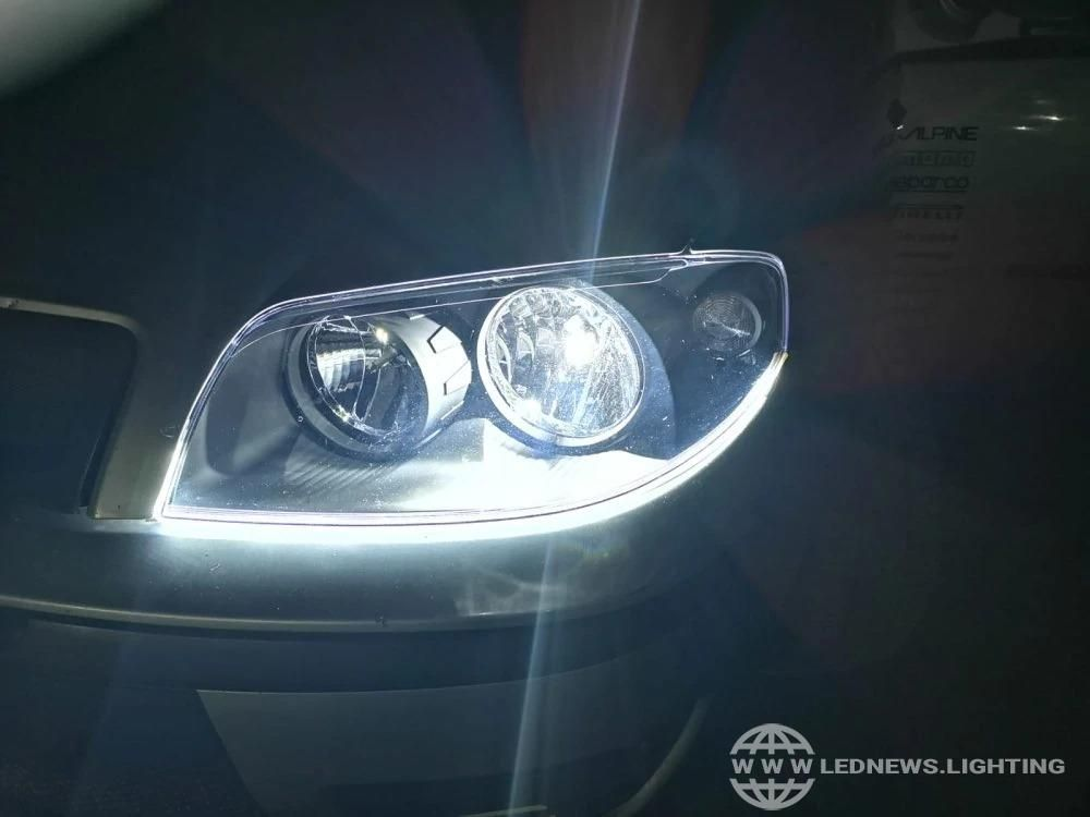 Product Drl Flexible Led Strip Daytime Running Lights Car Headlight Turn Signal Brake Lamps Car Headlights Running Lights Led Lighting Solutions