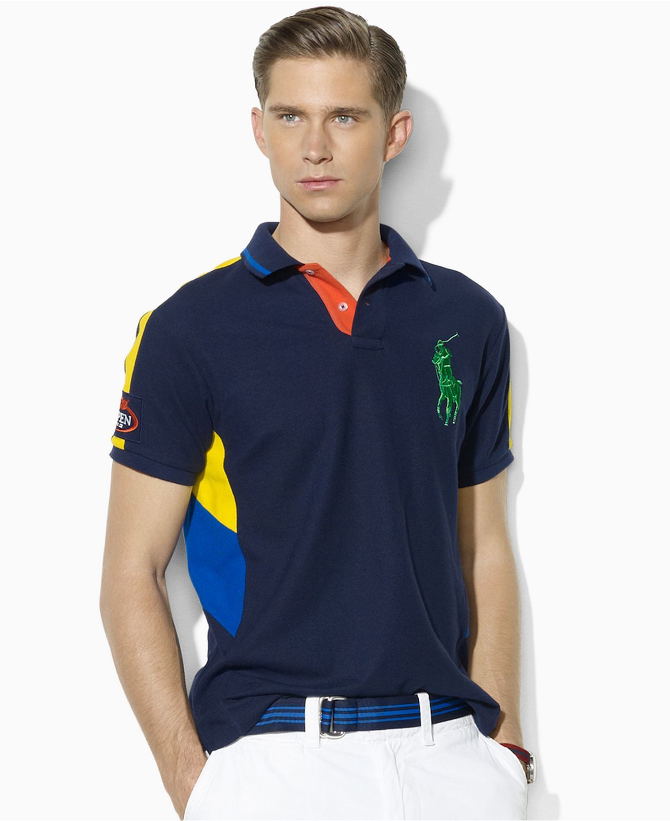 Polo Ralph Lauren Shirt, Limited Edition US Open Performance Ball Boy Polo  Shirt - Polos - Men - Macy's