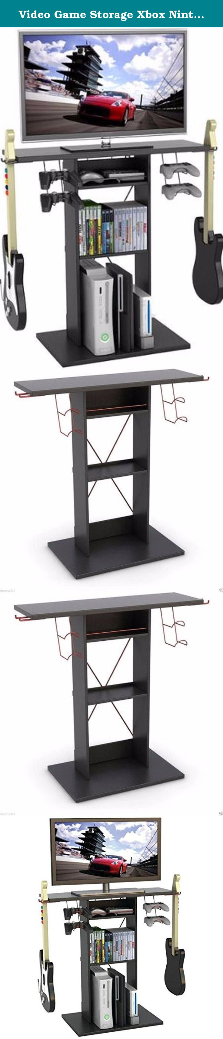 Video Game Storage Xbox Nintendo Ds Central Tv Stands For Flat