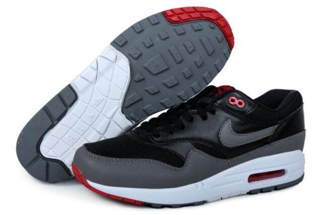 Nike Air Max 87 2013 Men Running Shoes Grey Black