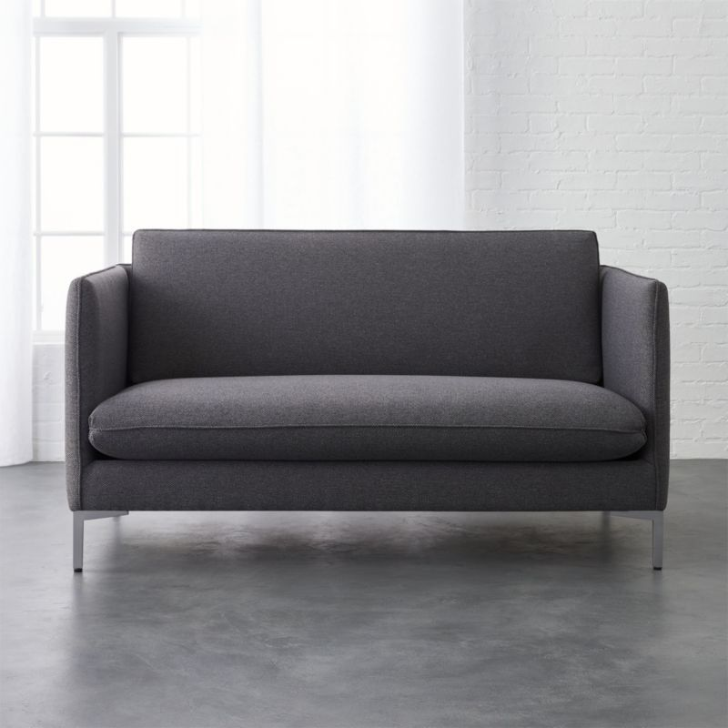 Shop Flatiron Grey Apartment Sofa Sized Just Right For Small