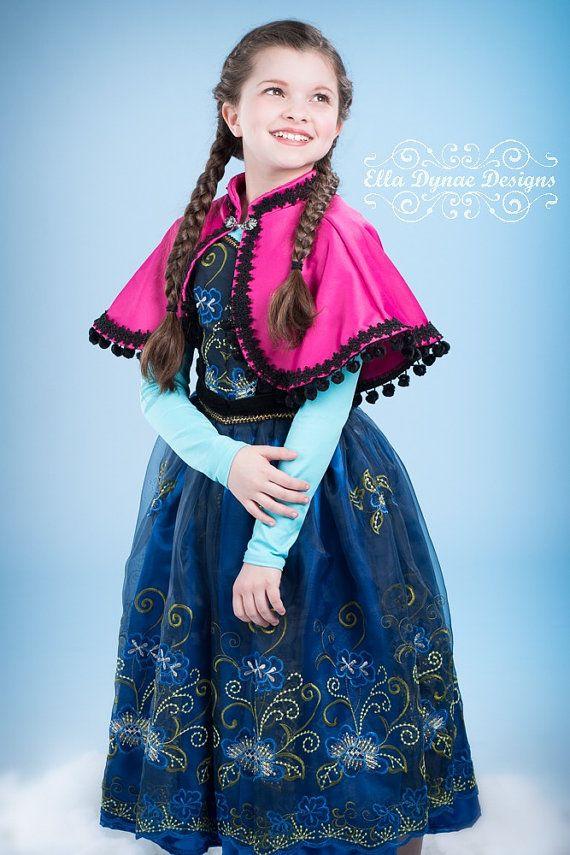 sc 1 st  Pinterest & Frozen Anna Cape
