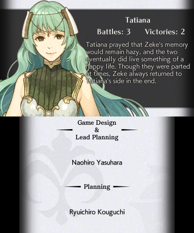 FE Echoes: Shadows of Valentia Character Endings