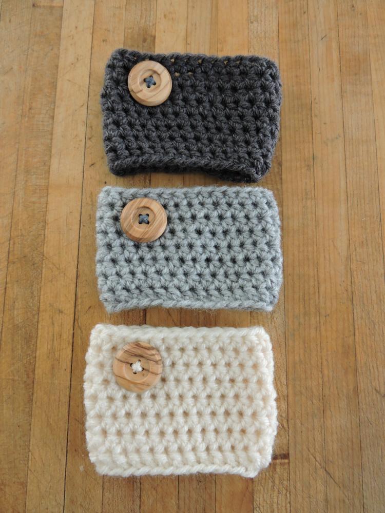 Crochet Coffee Cozy Pattern Coffee Cozy Pattern Crochet Coffee