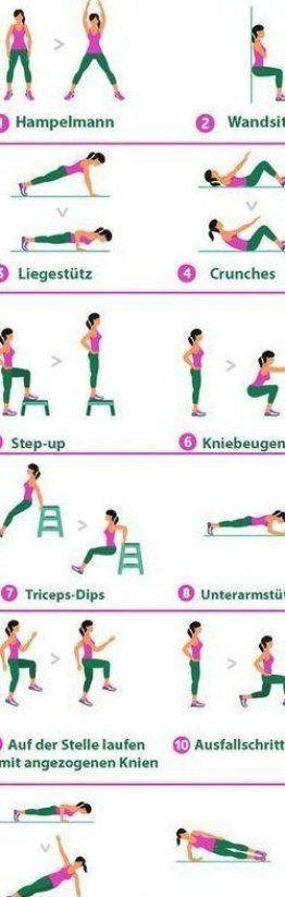 Ein effektives Workout muss nicht lange dauern - wir zeigen euch das 7-Minuten-Workout...