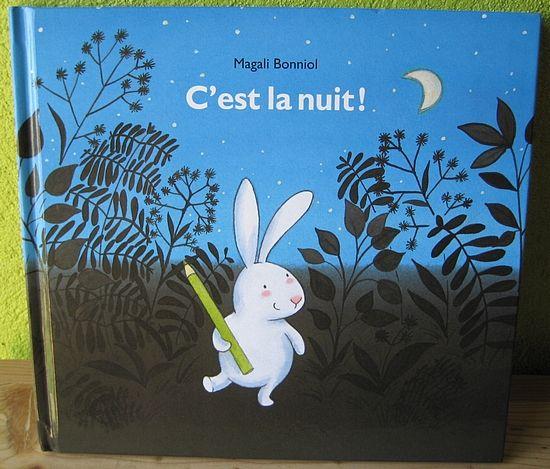 C'est la nuit Magali Bonniol Editions L'école des loisirs