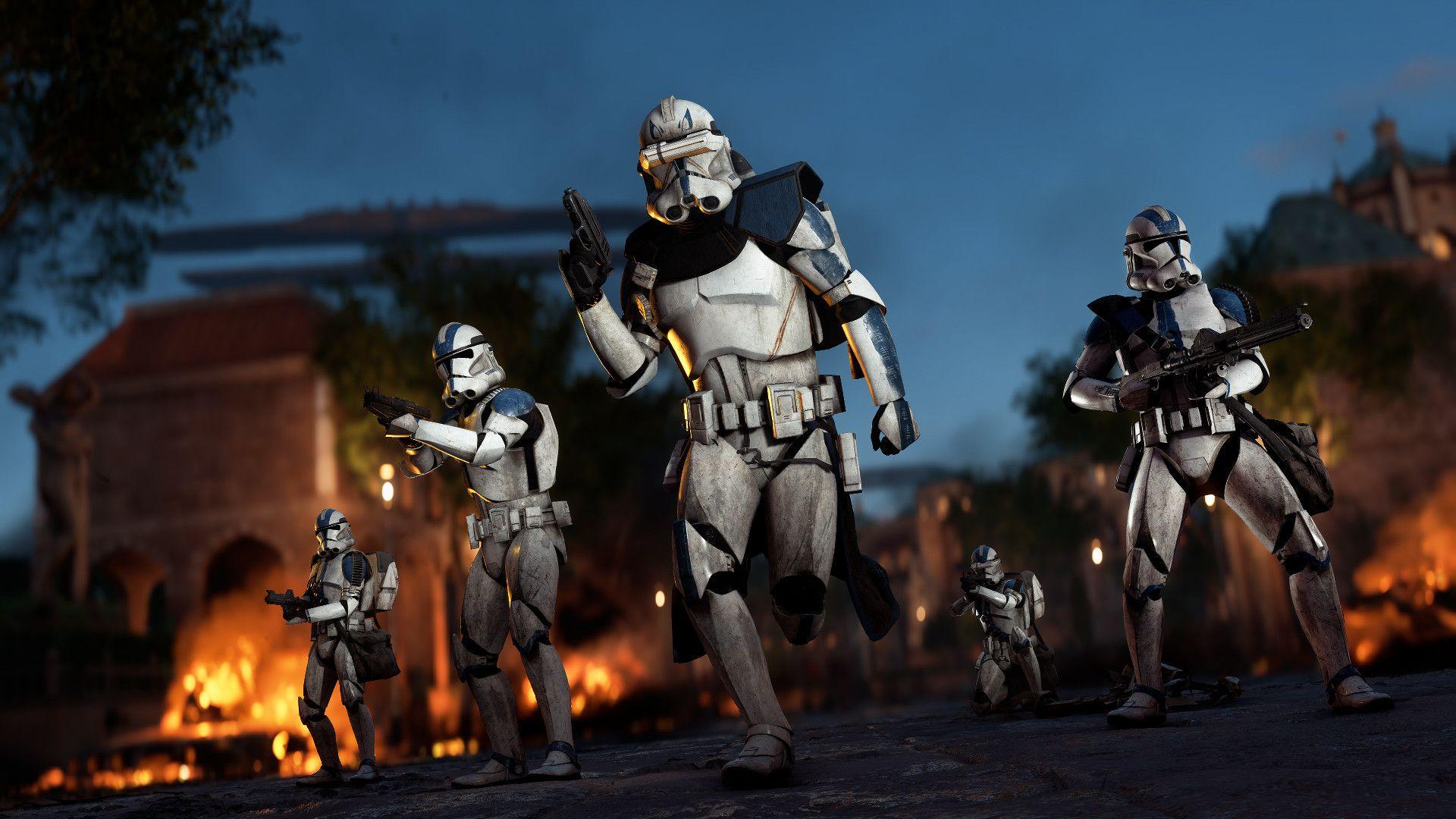 Artstation Star Wars Battlefront Ii Game Photography Cinematic