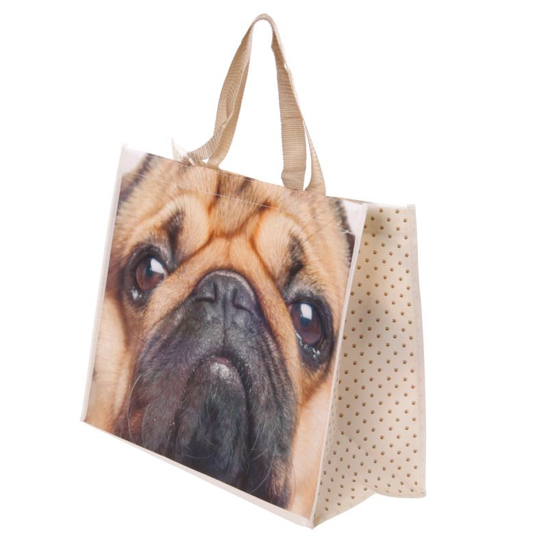 Pugs & Kisses Essential Shopping Bag