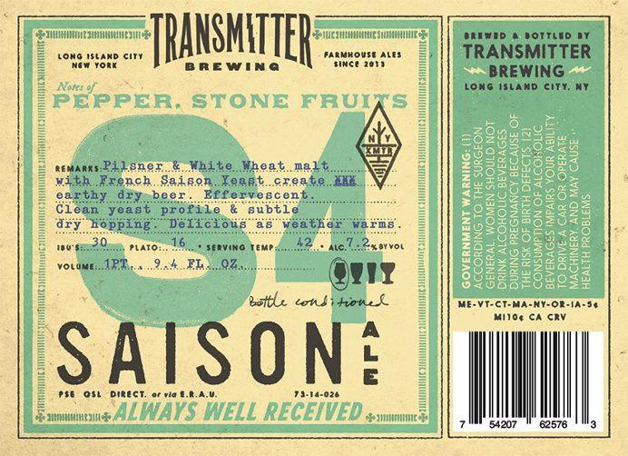 Beer, transmitter, hip, hipster, large letter, letter, number in Beer Culture