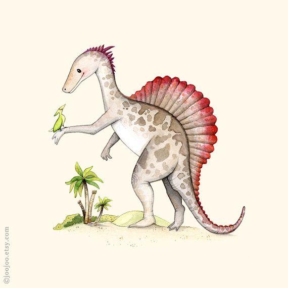 #dinosaurillustration
