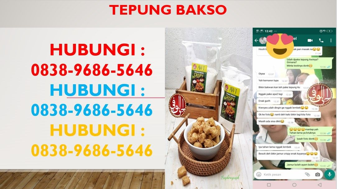 Cara Membuat Bakso Mercon Jakarta 0838 9686 5646 Bakso Sapi Tepung