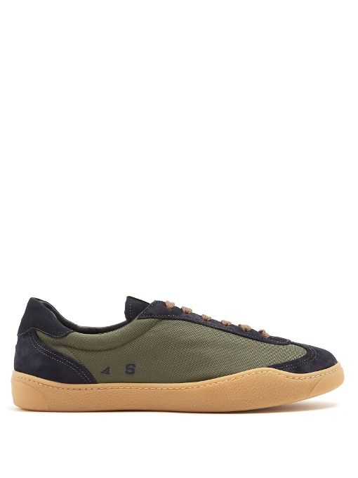 Mens Lars Suede & Nylon Sneakers Acne Studios Classic For Sale Cheap Discount Discount 100% Authentic 1ROCP