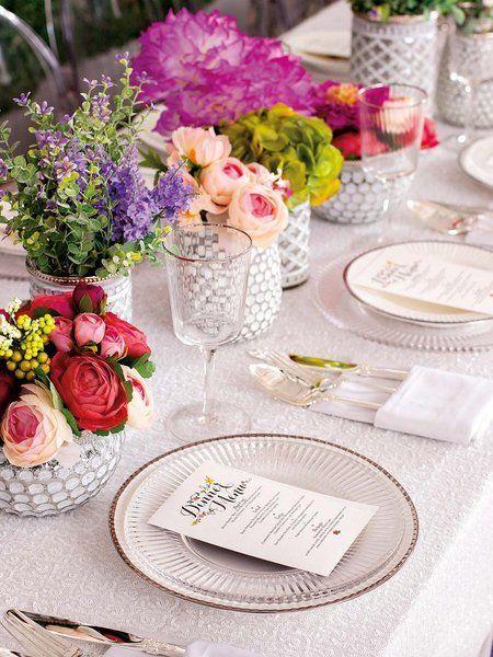 Cmo Montar Una Mesa De Fiesta Aranjari Masa Pinterest Weddings