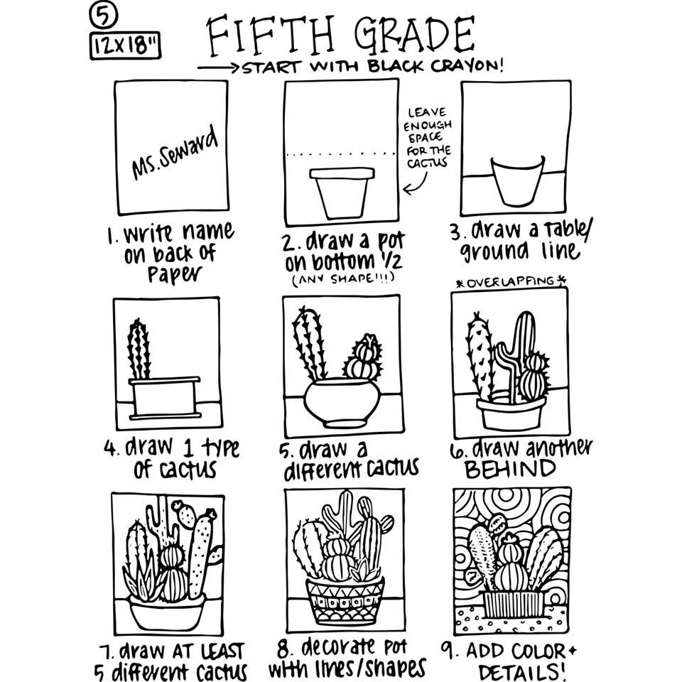 5th grade sub plans | Classroom in 2019 | Art sub lessons, Art ...