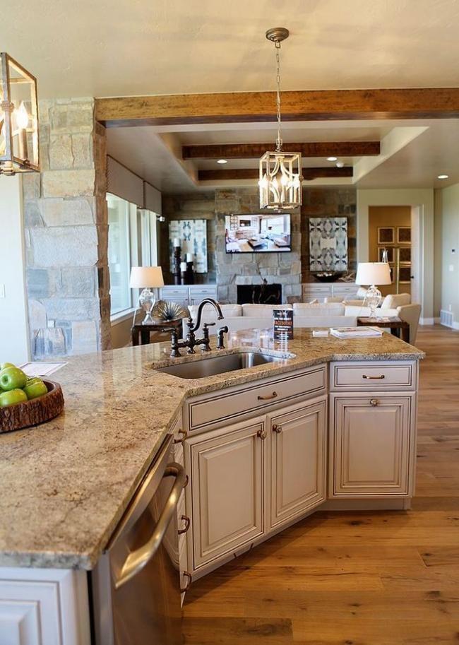 18 Antique White Kitchen Cabinets Farmhouse Counter Tops ...