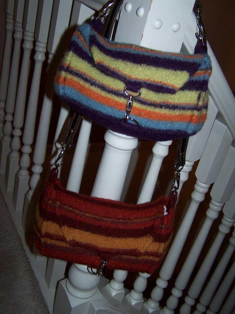 Jayne\'s AP Bag, Felted #Bag #Totes #Purse #Free #Knitting #Pattern ...