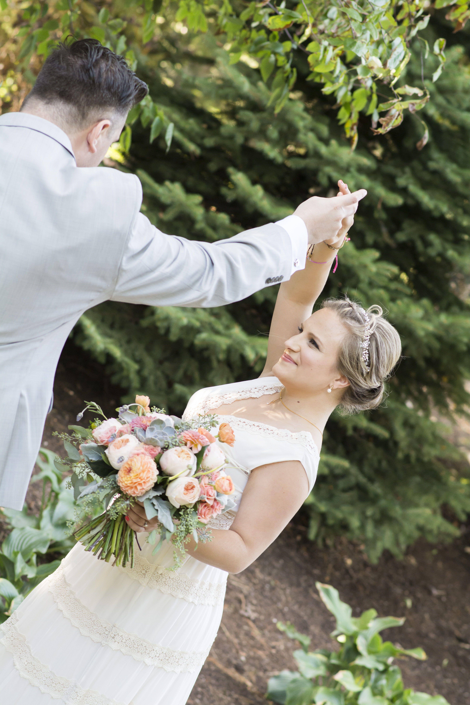 Soft, natural bridal glam by Meghana Prasad, Chicago