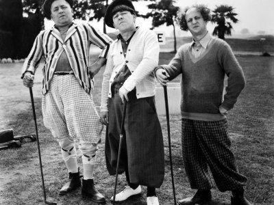 Three Stooges Golf Wallpaper