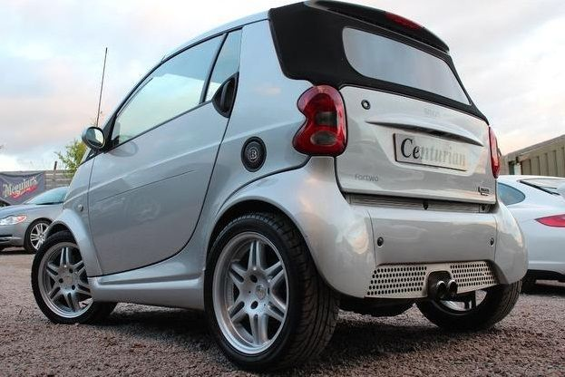 Used Smart Car Brabus Convertible Images 05 Carsolut Ideal Solutions