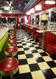Chase S Diner Chandler Az Restaurant Design 1950s
