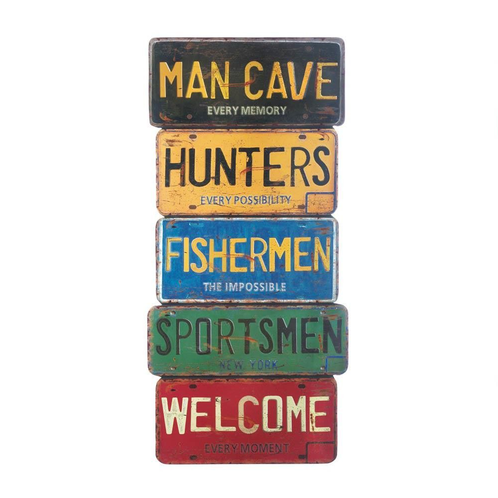 Man's Cave Wall Decor