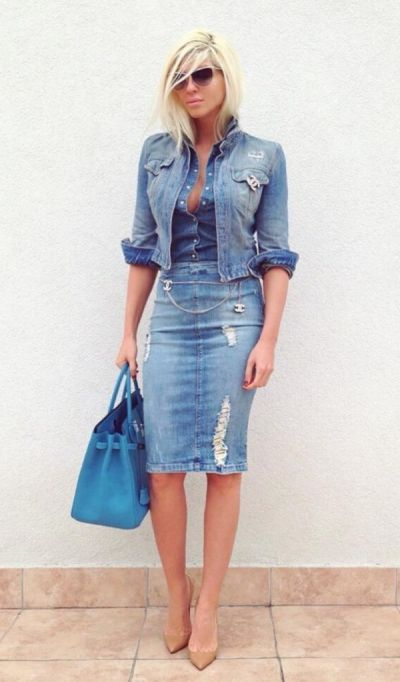 All denim ♥