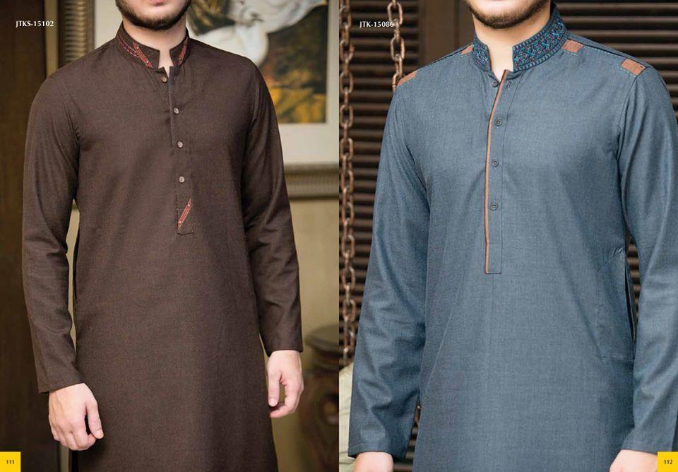 Junaid Jamshed Winter Kurta Collection 2015 16 for Men