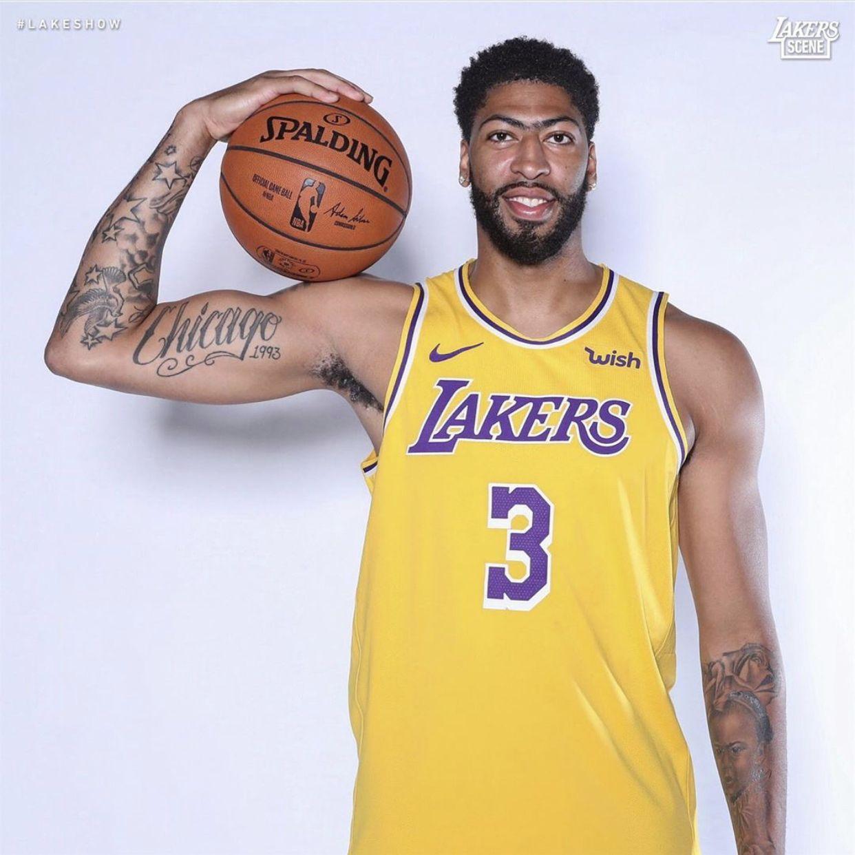 Anthony Davis Lebron James Lakers Anthony Davis Nba Pictures