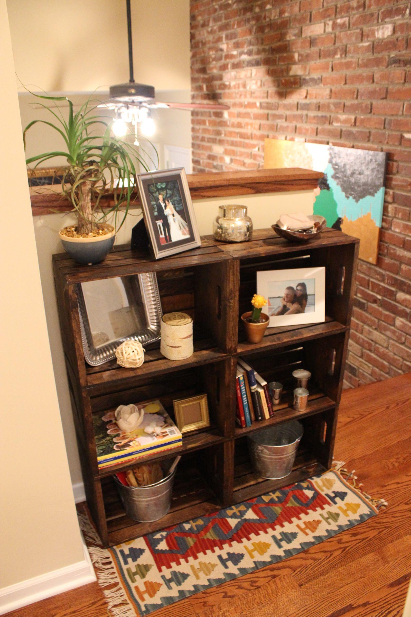 Decora tu hogar con cajas recicladas Pallet Ideas