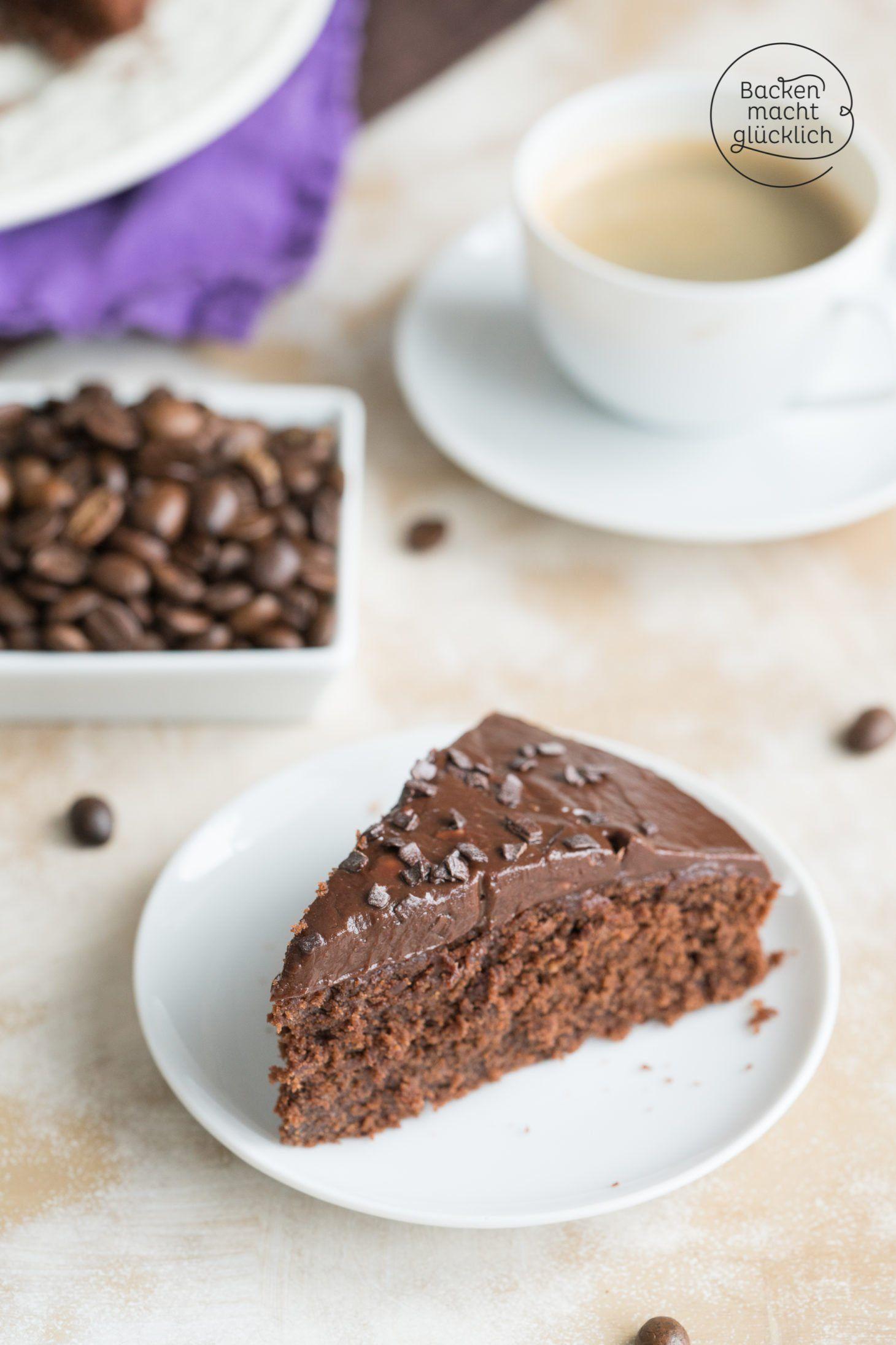 Saftiger Schoko Kaffee Kuchen Backen Macht Glucklich Rezept Kaffee Und Kuchen Kuchen Kuchen Und Torten Rezepte