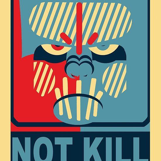 Ape NOT KILL Ape....